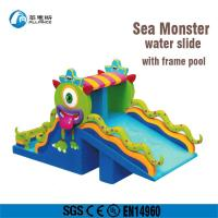 Wholesale Fire Retardant Safe Large Blow Up Slide / Commercial Inflatable Water Slides from china suppliers