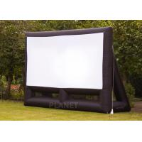 Wholesale Custom 6 Meter Inflatable Cinema Screen Flame Retardant For Parties / Weddings from china suppliers