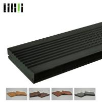 Buy cheap Bamboo Deck Tiles 1220 Kg/M³ 18mm High Density With Charcoal Surface Treatment from wholesalers