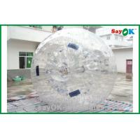 Wholesale Gaint Tranparent Inflatable Zorb Ball 2.3x1.6m Human Hamster Ball from china suppliers