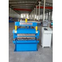 Wholesale south africa ibr686 and corrugated 762 roofing machine roll forming machine 4kw power and 5.5kw frequency converter from china suppliers