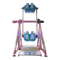 China Thrilling Amusement Park Rides 360 Degree 7.5KW Power Height 6m on sale