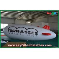 Wholesale 0.2mm PVC Custom Logo Inflatable Helium Balloon 5m Helium Zeppelin Air Plane from china suppliers