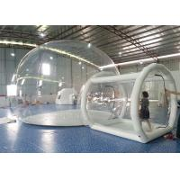 Quality Giant PVC Inflatable Bubble Tent Fire Prevention For Camping And Trade Show for sale