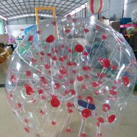 Wholesale 1.5M Transparent Human Inflatable Bumper Bubble Ball 1 year warranty from china suppliers