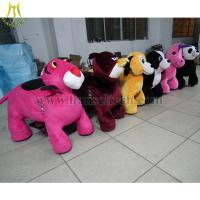 Wholesale Hansel Wholesale stuffed animal ride electronic coin toys happy rides on animal from china suppliers