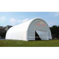 China Outdoor White PVC Tarpaulin Inflatable Party Tent for party event on sale