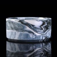 Wholesale 900ml Marble Candle Jar For Scented Candle , Marble Candle Container from china suppliers