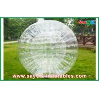 China Clear Durable Inflatable Zorb Ball For Entertainment 1.0mm PVC on sale