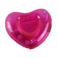 Wholesale Red Sweat-heart Shape Inflatable Drink Holder PVC Pool Floating Holder 18*18cm from china suppliers