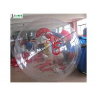 Wholesale TPU Inflatable Water Ball With Number For Walking On Water , Water Roller Ball from china suppliers