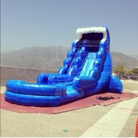 Wholesale 0.55+0.4pvc Rental Business Summer Gadgets Adult Inflatable Water Slide With Water - Proof Material from china suppliers