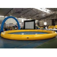 Buy cheap Portable Round Indoor Inflatable Swimming Pool With Waterproof 0.9mm PVC from wholesalers