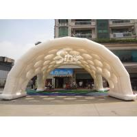 China Outdoor event white giant inflatable spider tent with bubble windows on top from Sino Inflatables on sale