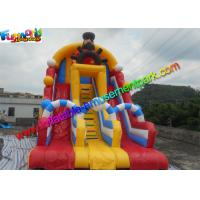 Wholesale Customized Pirate Inflatable Slide Three Lane , inflatable kids slide from china suppliers