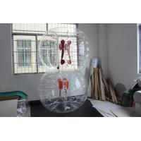 China Custom Inflatable bubble football soccer clear with inflatable ball suits on sale