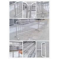 customized metal crowd control barrier, portable barricades, pedestrian barriers