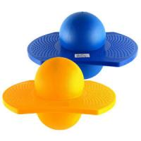 Quality Blue Jumping Ball Hopper Balance Board Lolo Exercise Bounce Space Toy Hop Kids for sale