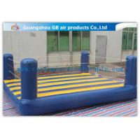 Wholesale Custom Sports Bouncy Boxing Inflatable Wrestling Ring For Adult / Kids from china suppliers