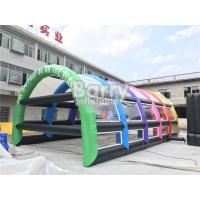 Quality Outside PVC Inflatable Tennis Tent , Inflatable Arch Tent For Sports for sale