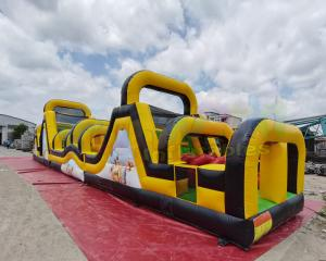 Wholesale 0.55mm PVC Tarpaulin Inflatable Obstacle Course For Advertisement from china suppliers