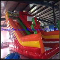 Wholesale CE certificate  Fire-Proof  inflatable bouncer combo 5% disaccount , inflatable slide for kids from china suppliers