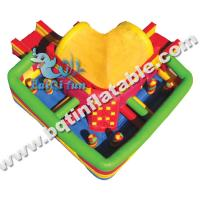 Wholesale Commercial Inflatable obstacle course,inflatable colourful funcity from china suppliers
