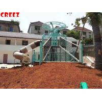 Wholesale Customizd Outdoor Stainless Design Slide Children Park Amusement Equipment Made By Creez from china suppliers