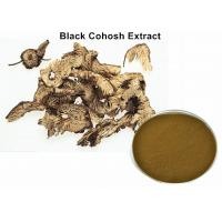 Buy cheap Pure Black Cohosh Root Extract For Menopause , Dark Brown Powder Natural from wholesalers