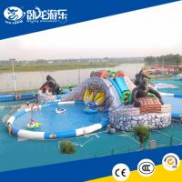 Wholesale giant funny inflatable pool slide for sale from china suppliers