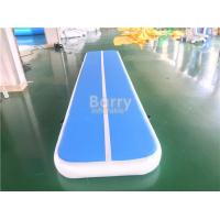 Inflatable Air Track Gymnastics Mat For Practice / Home Training Tumbling Mat