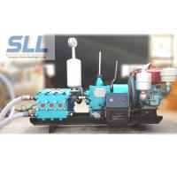 China Flexible Medium High Pressure Mud Pump , Three Cylinder Diesel Engine Pump on sale