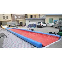 Wholesale 27m Long Air Sealed Inflatable Water Slides For Lakeside / Inflatable Slip N Slide from china suppliers