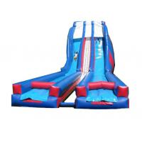 Wholesale 0.55mm PVC Inflatable Commercial Water Slides Outdoor / Indoor Amusement Parks Equipment from china suppliers