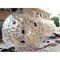Wholesale Custom Leisure Giant Inflatable Zorb Ball 1.0mm / 0.8mm PVC / TPU from china suppliers