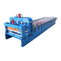 Wholesale Steel Tile Forming Machine For Roofing Glazed Sheet Metal Construction Materials from china suppliers