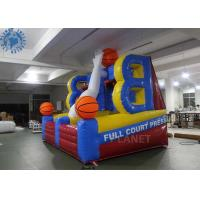 Quality Full court Press Basketball Inflatable Sports game for party rental for sale