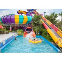 Wholesale High Quality Best Quality Water Slide Space Bowls Slide Huge Slide from china suppliers