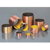 High Precision Oilless Bushing All Oiles Bronze Bearing , Oil Free Bushings