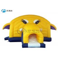 China with cover small elephant bounce house combo on sale