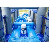 Quality Playground Adult Inflatable Obstacle Course Adrenaline Rush OEM Service for sale
