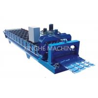 Wholesale Industrial Aluminum Step Tile Roll Forming MachineWith Metal Slitter Machine from china suppliers