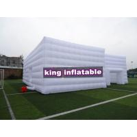 China White Trade Show Inflatable Event Tent House / Party Tent For Wedding Or Exhibition on sale