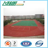 Wholesale Imperious Self-Knot Pattern Rubber Running Track Flooring For 400m Standard Stadium Floor IAAF from china suppliers