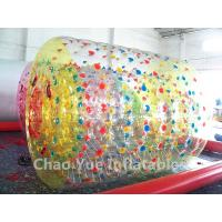 Wholesale High Quality Colorful 0.8mm PVC Inflatable Water Roller Walking Ball for swimming pool from china suppliers