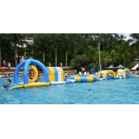 China Inflatable Floating Water Park / Inflatable Water Sport Games For Pool on sale