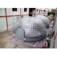 Wholesale 8m Diameter Combo Transparent Inflatable Dome Tent For Party / Exhibition from china suppliers