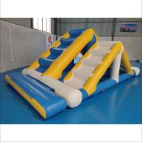 Quality Commercial Inflatable Ladder With 0.9mm PVC Tarpaulin For Water Sport Games for sale