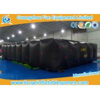 Wholesale Black Air Hot Welded Inflatable Maze Bounce House For Adults / Kids from china suppliers