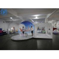 Buy cheap Custom Christmas Ornaments large inflatable Christmas snow globe from wholesalers